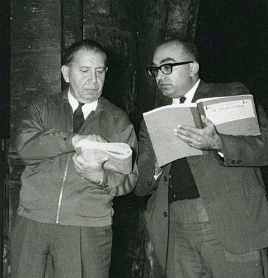 HERBERT GRAF (400) AND LOTFI MANSOURI